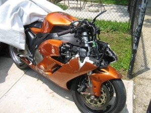 Honda motorcycle accident